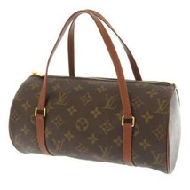 LOUIS VUITTON Papillon 26 Monogram Canvas M51366 Handbag Mini Boston France - $568.15