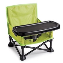 Booster Seat Dining Toddler Pop Up Portable Folding Feeding High Chair P... - $42.95