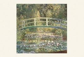 Waterlilies and Japanese Bridge by Claude Monet - Art Print - $19.99+