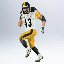 Hallmark Ornament 2011 Troy Polamalu - Football Legends Repaint Pittsbur... - $44.79