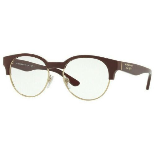 BURBERRY Eyeglasses BE-2261-3687-50 Size 50mm/17mm/140mm BRAND NEW W CASE - $76.79