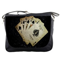 Messenger Bag Poker Cards Elegant Animation Fantasy Game - $30.00