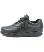 SAS Freetime Sz 9 M EU 40 Women's Leather Lace-Up Casual Sneakers Black ... - $162.35