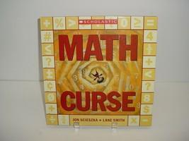 Math Curse Scholastic Jon Scieszka Book - $5.84