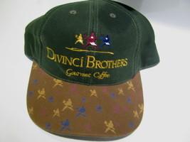 VTG Baseball Cap DIVINCI BROTHERS Gourmet Coffee Cafes & Houses trucker hat - $29.65