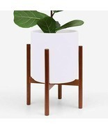 Large Modern Plant Pot w/ Wood Stand Perfect for Succulent Plants, Indoor Plants - $110.00 - $225.00
