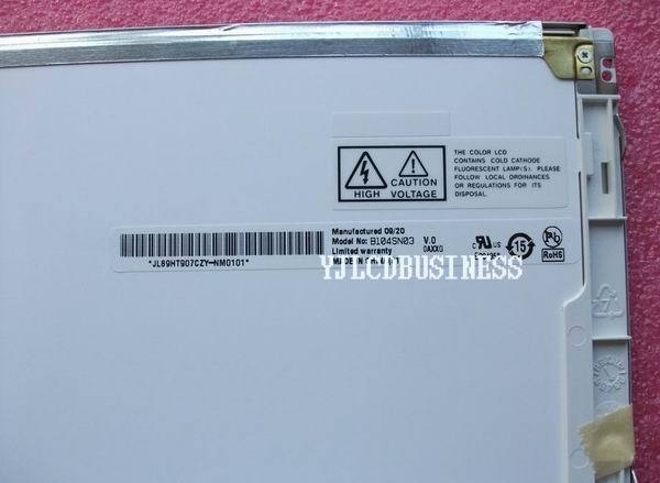 "AUO B104SN01 B104SN01 v.0 10.4"" TFT LCD PANEL 90 days warranty new"