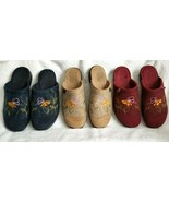 GREAT DEAL 3 Pairs FLY FLOT Womens Comfort Clogs Floral Embroidery USA 9... - $45.00