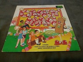 Old Vintage 1972 candy man land LP vinyl Disneyland record Disney kids f... - $9.99