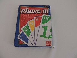 Phase 10 Card Game Complete Family Game Night Fun by Fundex - $10.10