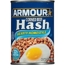 Armour Hearty Homestyle Corned Beef Hash, 14 oz - $14.06