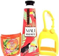 Bath & Body Works Tiki Mango Mai Tai Hand Cream, PocketBac & Orange Hold... - $19.31