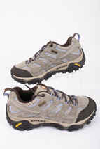 Merrell Womens Moab 2 WTPF Sneakers Shoes Sz 6 Dusty Olive Leather Hiking New - $69.29