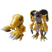 Bandai Digimon Digivolving Agumon to Wargreymon Figure Warp Evolution 19... - $64.35