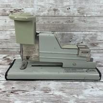 Vintage Swingline No. 13 Heavy Duty Stapler USA Made Mid Century Beige - $17.77