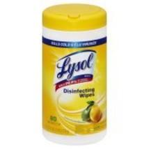 Lysol Disinfecting Wipes, Lemon Lime Blossom Sc... - $4.50
