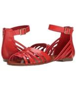 MIA 2 Women's Sling Back, Ankle Strap Benita Huarache Sandal Sz 7M Red NWT - $16.99
