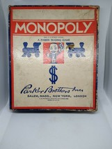 VINTAGE 1935/1936 MONOPOLY GAME WOODEN PIECES  - $44.54