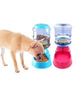 3.5L  Automatic Pet Feeder Drinking Fountain For Cats Dogs Puppy Dog Foo... - $25.90+