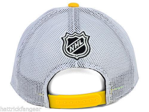 Boston Bruins Reebok NX28Z NHL Team Draft Meshback Hockey Cap Hat image 4