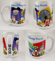 Authentic Disney Parks Walt Disney World Mom Mug Mickey and Friends Land White - $14.84