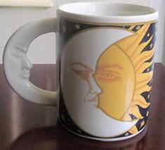 "1993 Vitromaster  Galaxy ""Sun, Moon, & Stars"" Novelty Coffee Mug - $12.99"