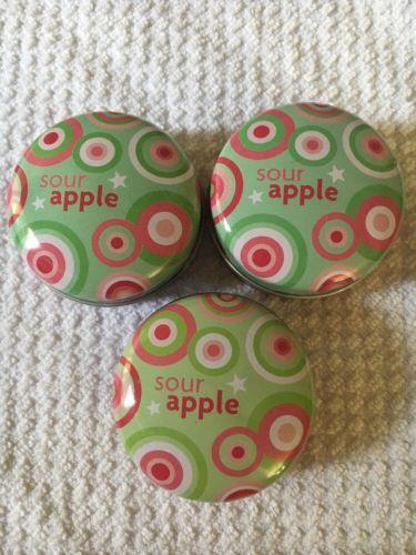 Bath And Body Works American Girl Sour Apple Lip Balm X3