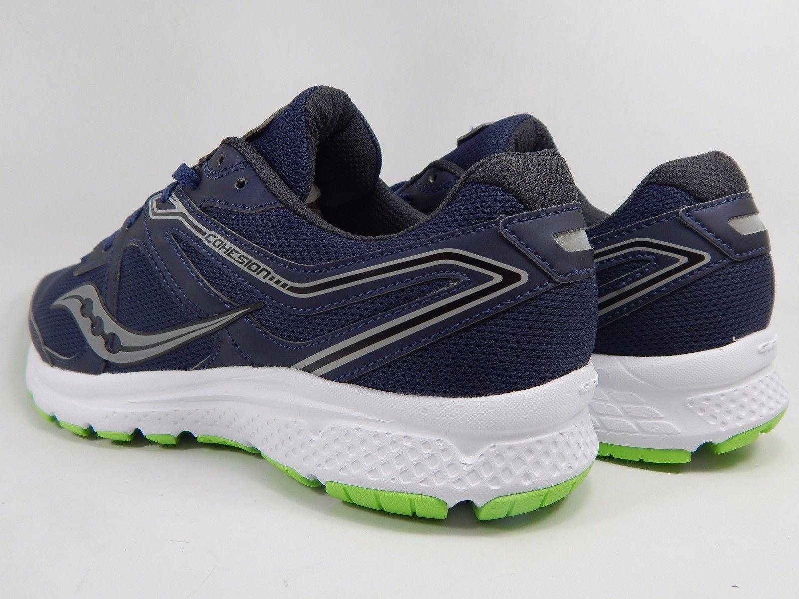 Saucony Grid Cohesion 11 Men's Running Shoes Sz US 9 M (D) EU 42.5 Navy S20420-1