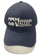 Missouri Valley Federal Credit Union Adjustable Adult Cap Hat - $12.86