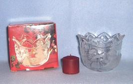 Mikasa Christmas Story Votive Candle Holder SA 600/594 New in Box - $5.99