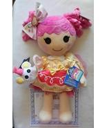 NEW Build A Bear Lalaloopsy Crumbs Sugar Cookie Doll, Dress, Hair Bow, M... - $129.99
