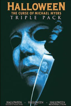 Halloween Triple pack Curse of Michael Myers | H20 | Resurrection DVD box set