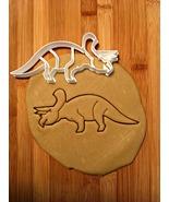 Triceratops Dinosaur Cookie Cutter - $8.00+