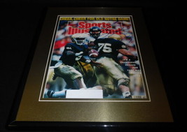 Tony Rice Signed Framed 1989 Sports Illustrated Cover JSA Notre Dame B - $65.09