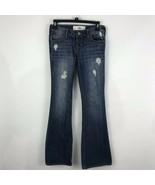 Hollister Womens Jeans Size 25 Distressed Destroyed Flap Pocket Cotton D... - $19.06
