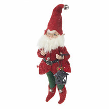 "Raz Imports 10.5"" Gnome Posable Elf - $34.65"