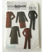 Butterick 4298 Sewing Pattern Capsule Wardrobe Womens Suits Skirt Dress ... - $4.00