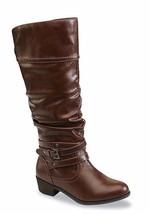 BONGO Women's Peyton Cognac Slouch Knee High Fashion Boots Size 8.5 US 4... - £14.71 GBP