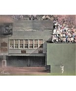 WILLIE MAYS NY New York Giants THE CATCH VarSizes Oil Style Art Print '5... - $4.44+