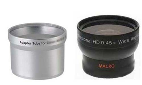 Primary image for Wide Lens + Tube bundle for Olympus C-700 C-720 C-725 C-730 C-740 C-750 C-760