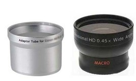 Wide Lens + Tube bundle for Olympus C-700 C-720 C-725 C-730 C-740 C-750 ... - $26.93