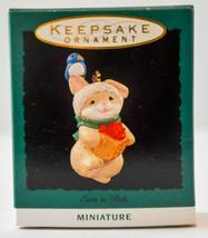Hallmark  Ears to Pals  1993  Keepsake  Miniature Ornament - $9.17