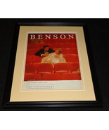 1983 Benson Cigarettes Framed 11x14 ORIGINAL Advertisement - $32.36