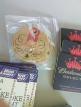 Anheuser Busch Beer Coasters - Bud, Michelob, Various - $7.36