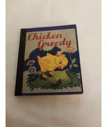 Chicken Greedy Vintage Miniature Children's Paperback Book - $26.24