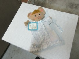"""Hand Puppet , Hallmark Mandy Mouse , 7""""X9"""" , Vintage , Collectible - $35.00"""