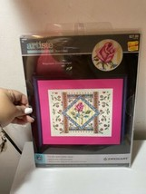 Nip Zweigart Artiste Rose Collage Cross Stitch Kit Kooler Design Studios - $18.69