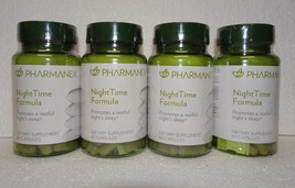 Four pack: Nu Skin Nuskin Pharmanex NightTime Night Time Formula 60 Capsules x4 - $92.00