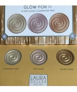 Laura Geller Glow For It Hi-Def Illuminator Trio NIB - $17.98