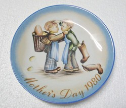 """Hummel Mother's Day Plate 1980 West Germany 7 3/4"""" - $8.95"""